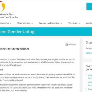 """""""Gender-Unfug"""": Ein Aufruf erschüttert die Welt"""